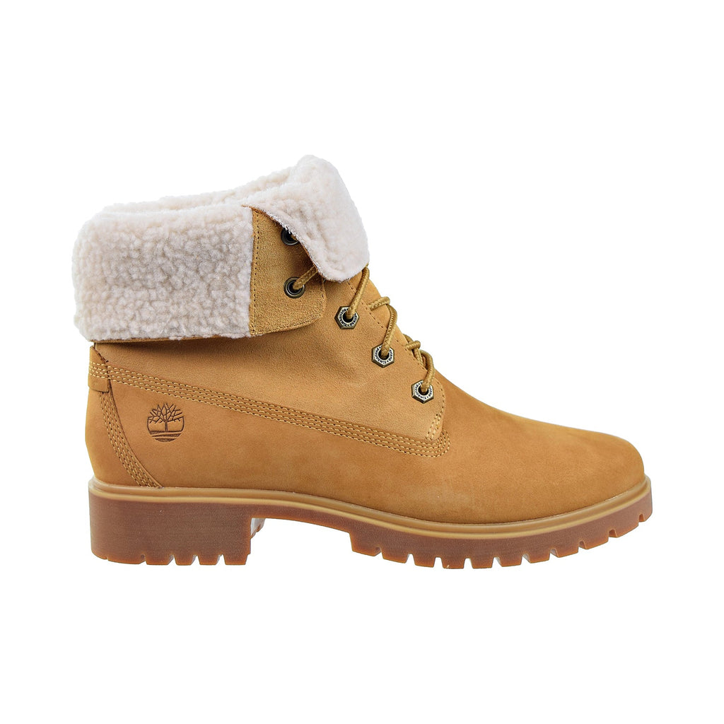 Timberland Jayne Fleece Fold-Down Women's Boot Wheat