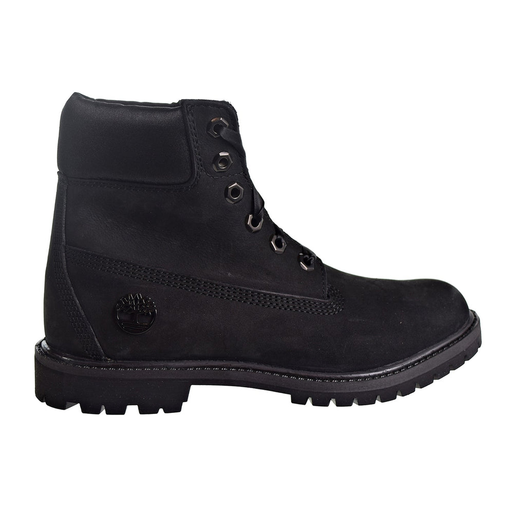 "Timberland 6"" Premium Boot Women's Shoes Black/Satin"