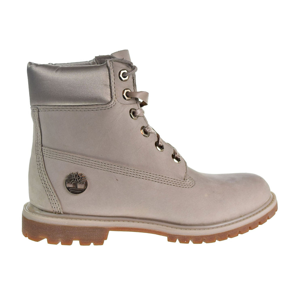 "Timberland Premium 6"" Waterproof Women's Boots Light Taupe Nubuck"