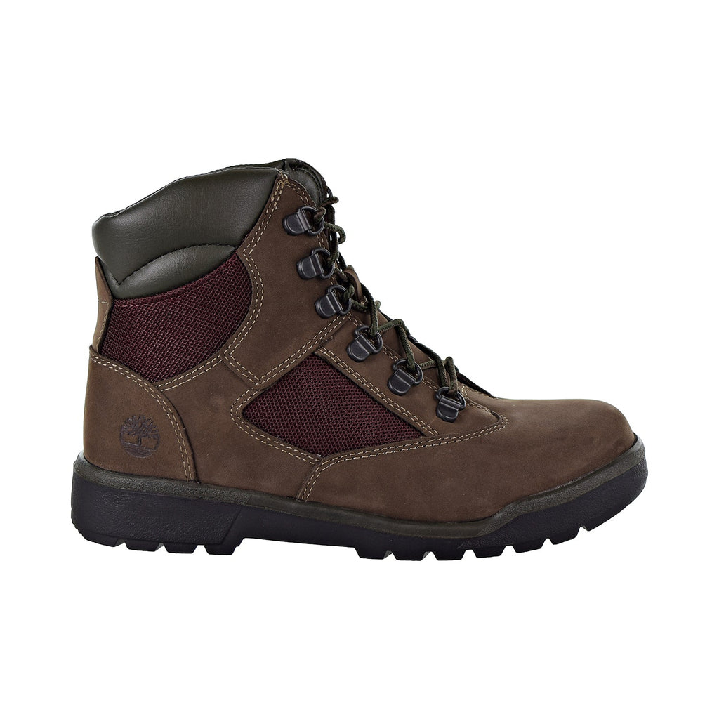 Timberland 6'' Field Boot Big Kids Shoes Dark Brown