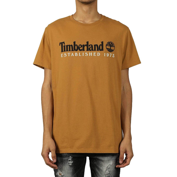 Timberland Men's Short Sleeve Core Established Tee Wheat