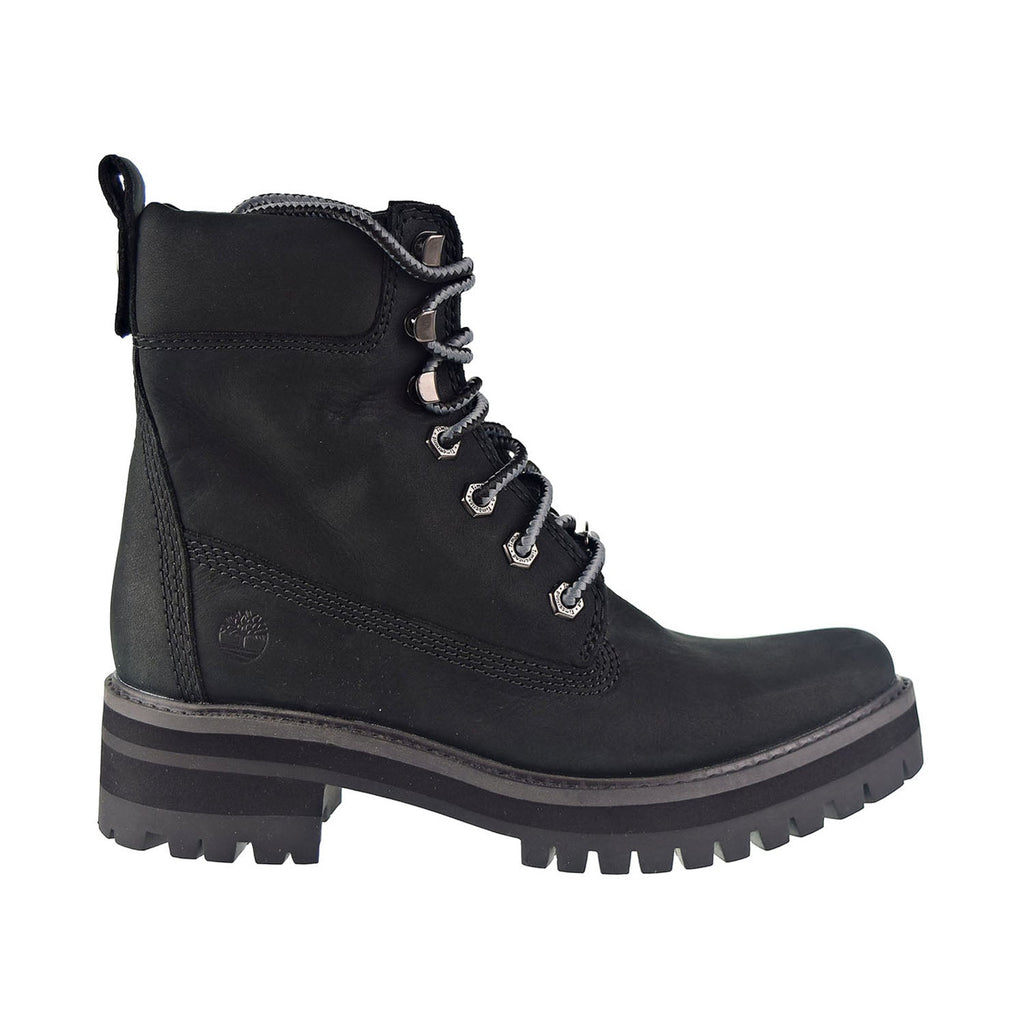 Timberland Courmayeur Valley 6 In Women's Boot Black Nubuck
