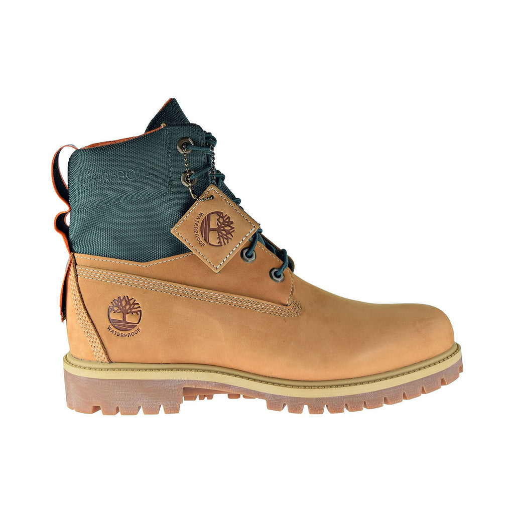 Timberland 6 Inch Waterproof Rebotl Fabric Men's Boots Wheat