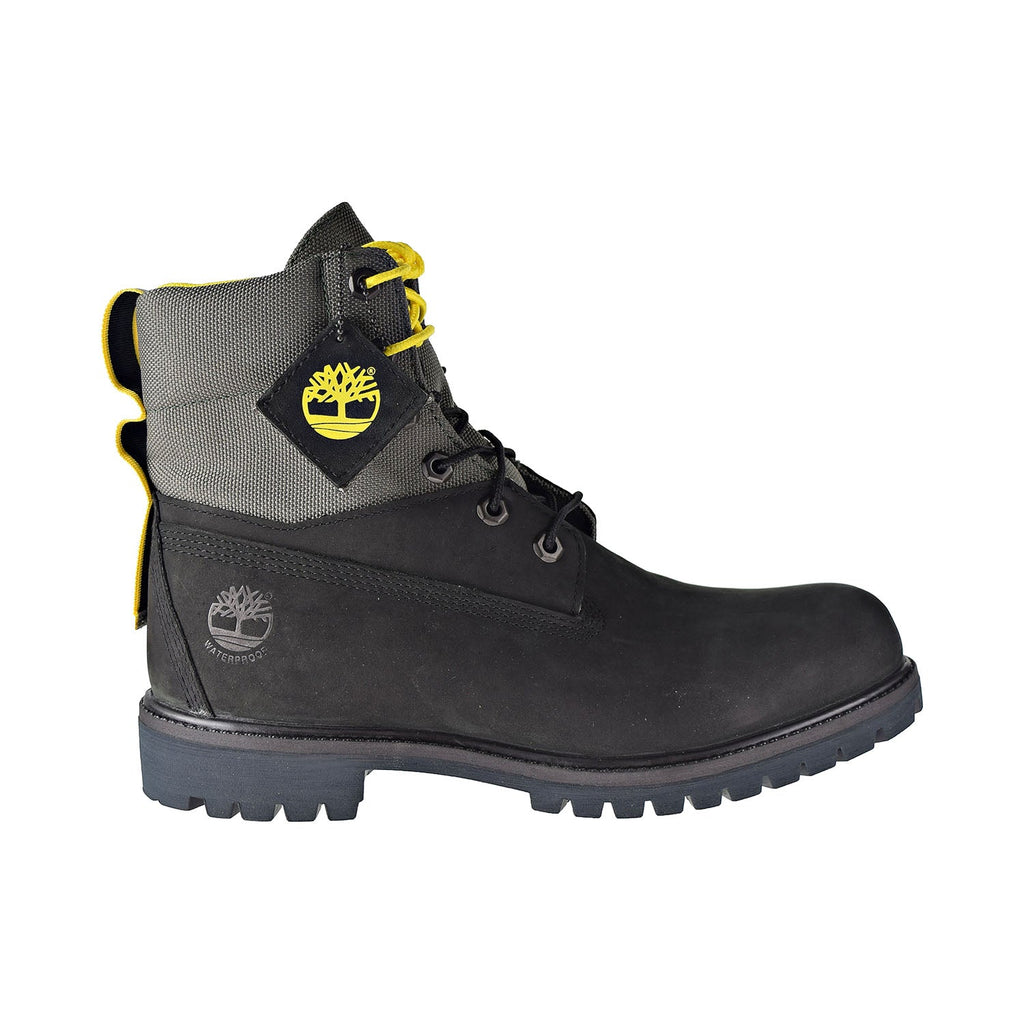 Timberland 6 Inch Waterproof Treadlight Men's Boots Black