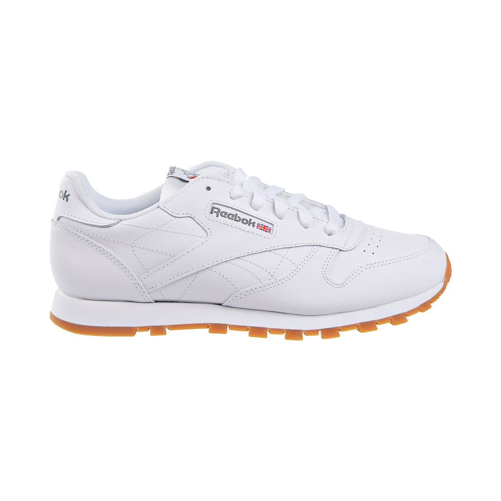 Reebok Classic Leather Big Kids' Shoes White/Gum