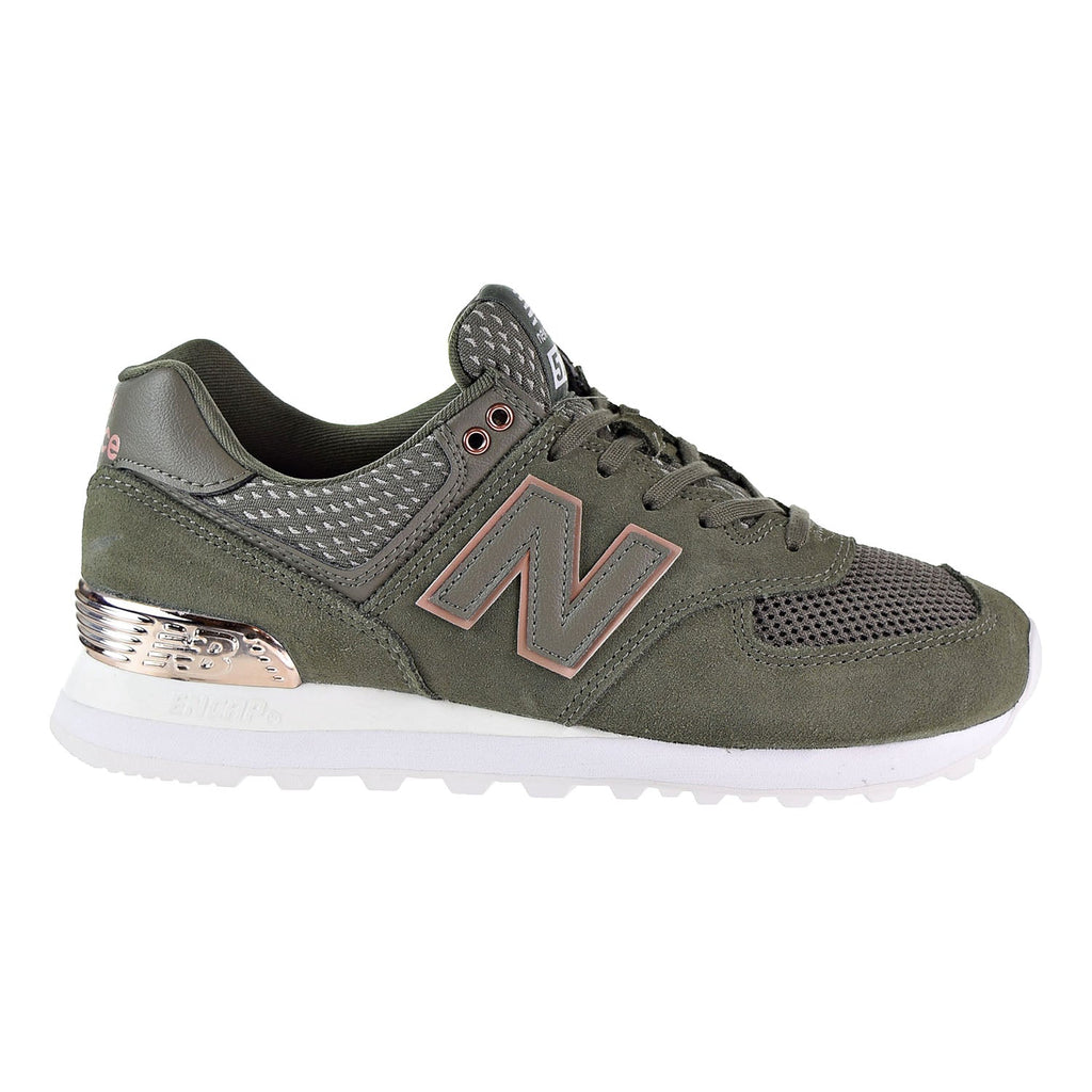 New Balance 574 All Day Rose Womens's Shoes Olive