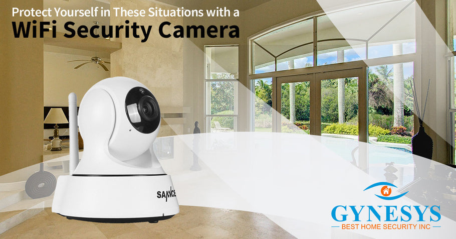 Protect Yourself In These Situations With a WiFi Security Camera