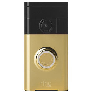 Video Doorbell RING 88RG101FC100 Polished Brass