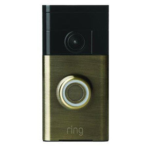 RING 88RG103FC100 Video Doorbell Antique Brass