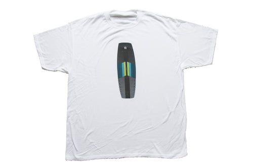 SL white board graphic t-shirt