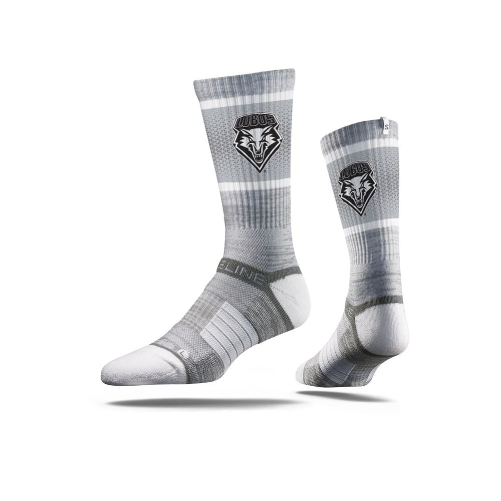 New Mexico Sock Albuquerque Silver Crew Premium Reg Full Photo