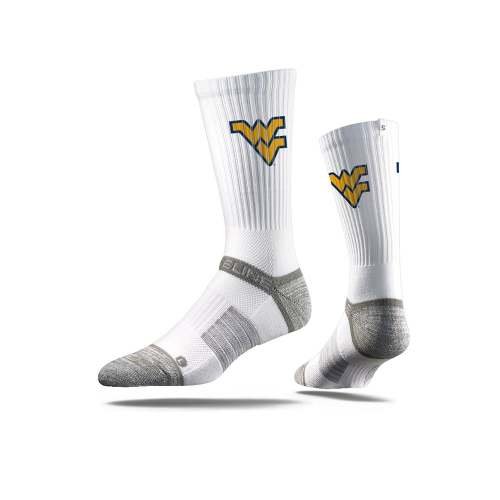 West Virginia University Mountaineers White Photo