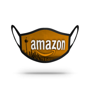 Custom face mask designed for Amazon