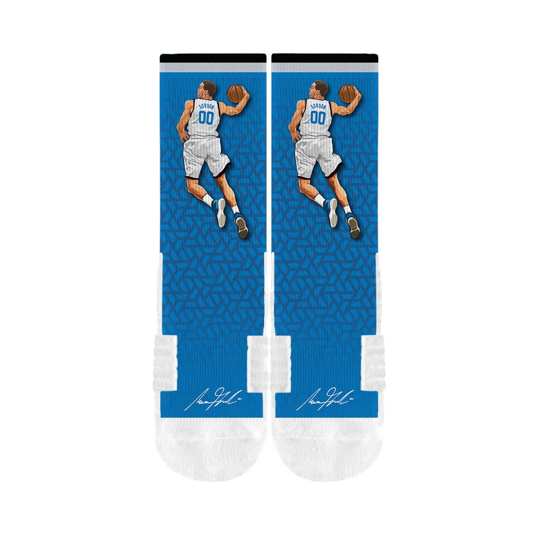 Aaron Gordon Dunk Blue Socks