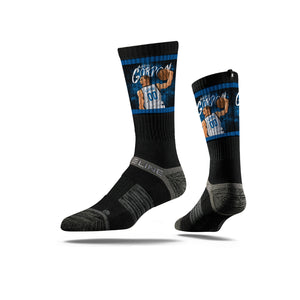 Aaron Gordon Jam Black Crew Socks