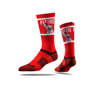 Adrian Beltre Double Play Red Crew Socks