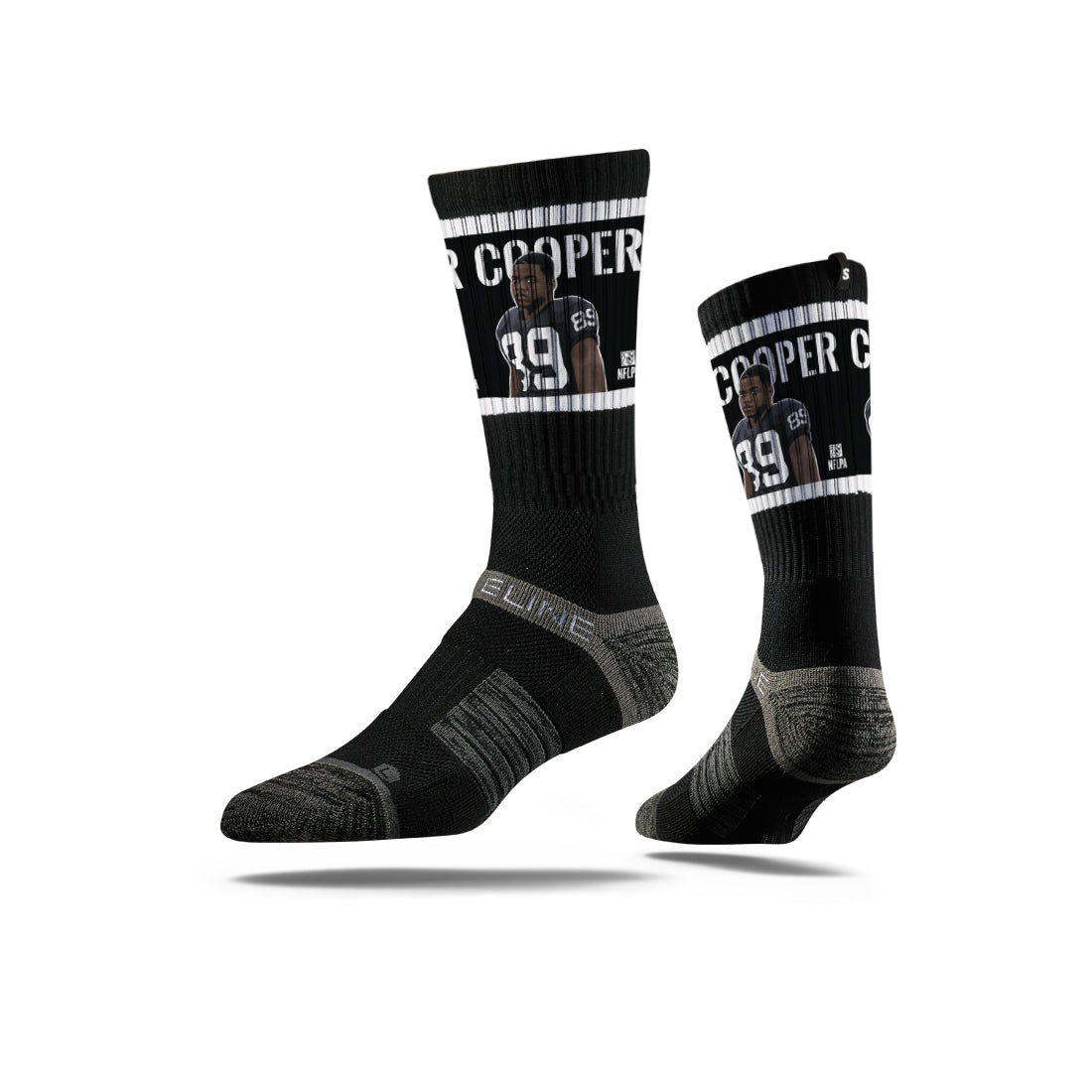 Amari Cooper Black Socks