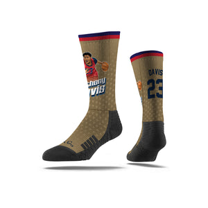 Anthony Davis Drive Gold Socks