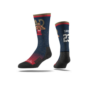 Anthony Davis AD Speckle Navy Socks