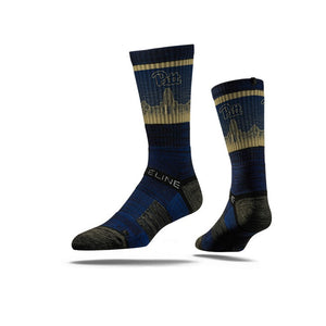 University of Pittsburgh Panthers Stadium Blue Socks