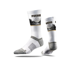 Purdue University Boilermaker White Socks