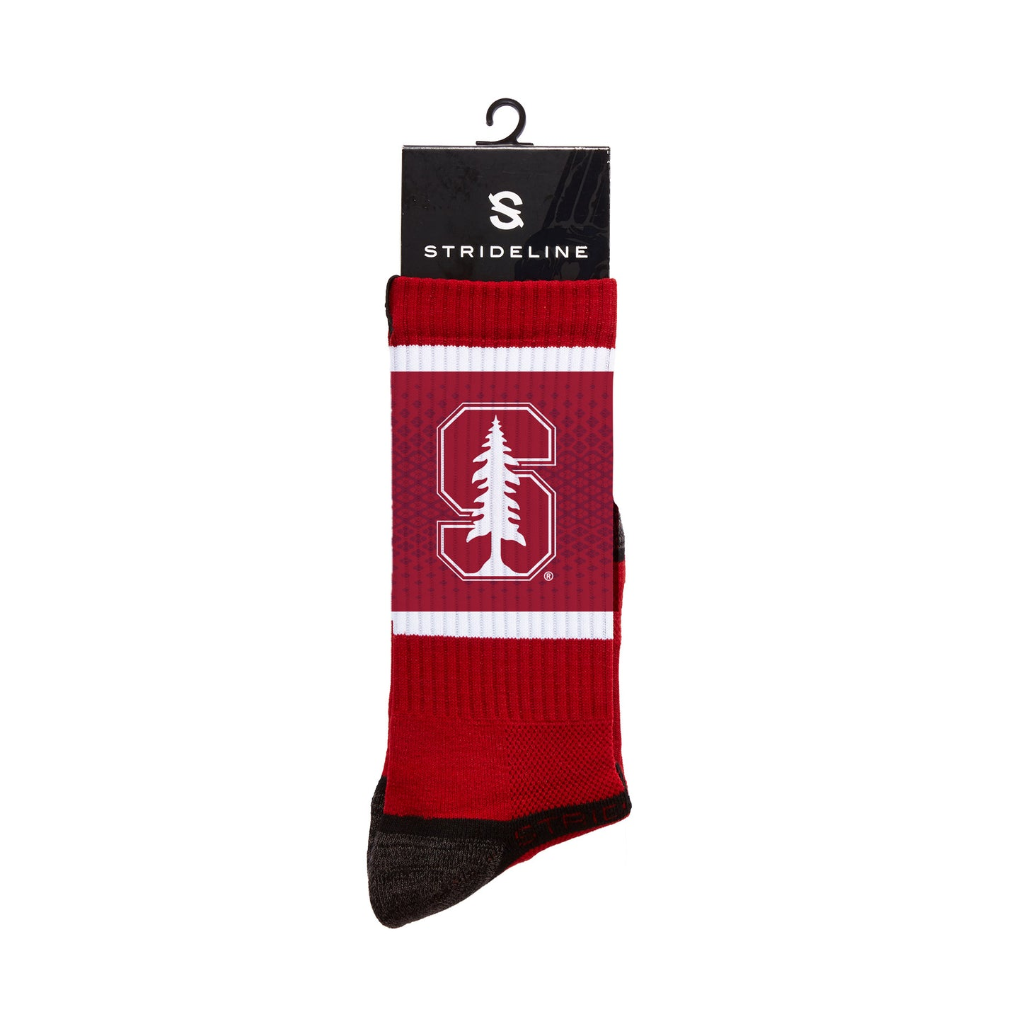 Stanford Cardinals Crimson Crew Socks