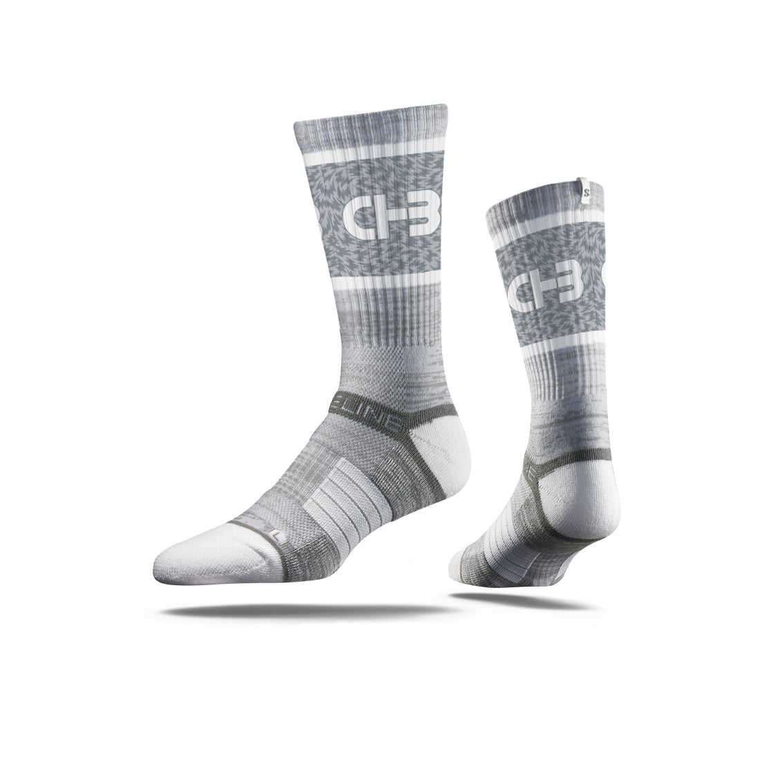 CHB Grey/White