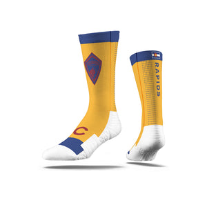 Colorado Rapids Flag Yellow Socks