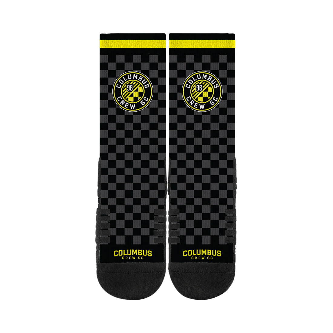 Columbus Crew FC Black/Grey Full Print Socks