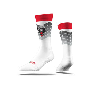 D.C. United White w/Chevrons Socks