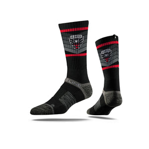 D.C. United Black w/Chevrons Socks