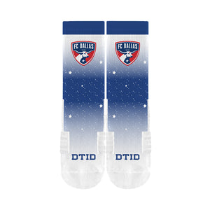 FC Dallas Blue Star Socks