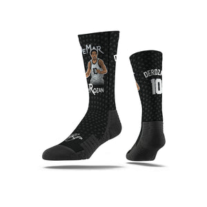 Demar Derozan Cross Over Black Socks