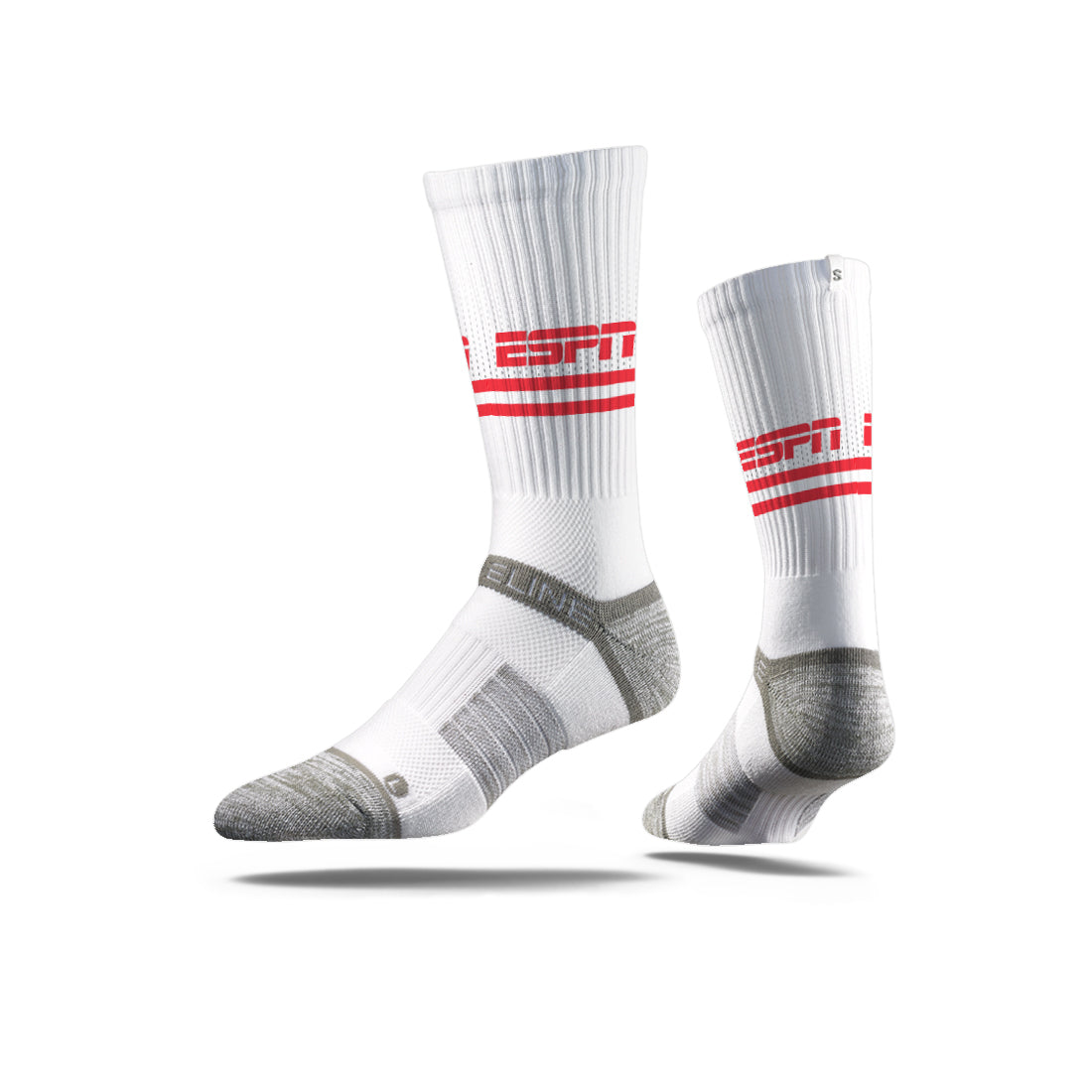 ESPN Logo White/Red