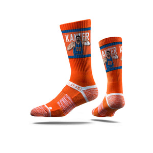 Enes Kanter Flex Orange Socks