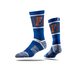 Florida F Royal Crew Socks