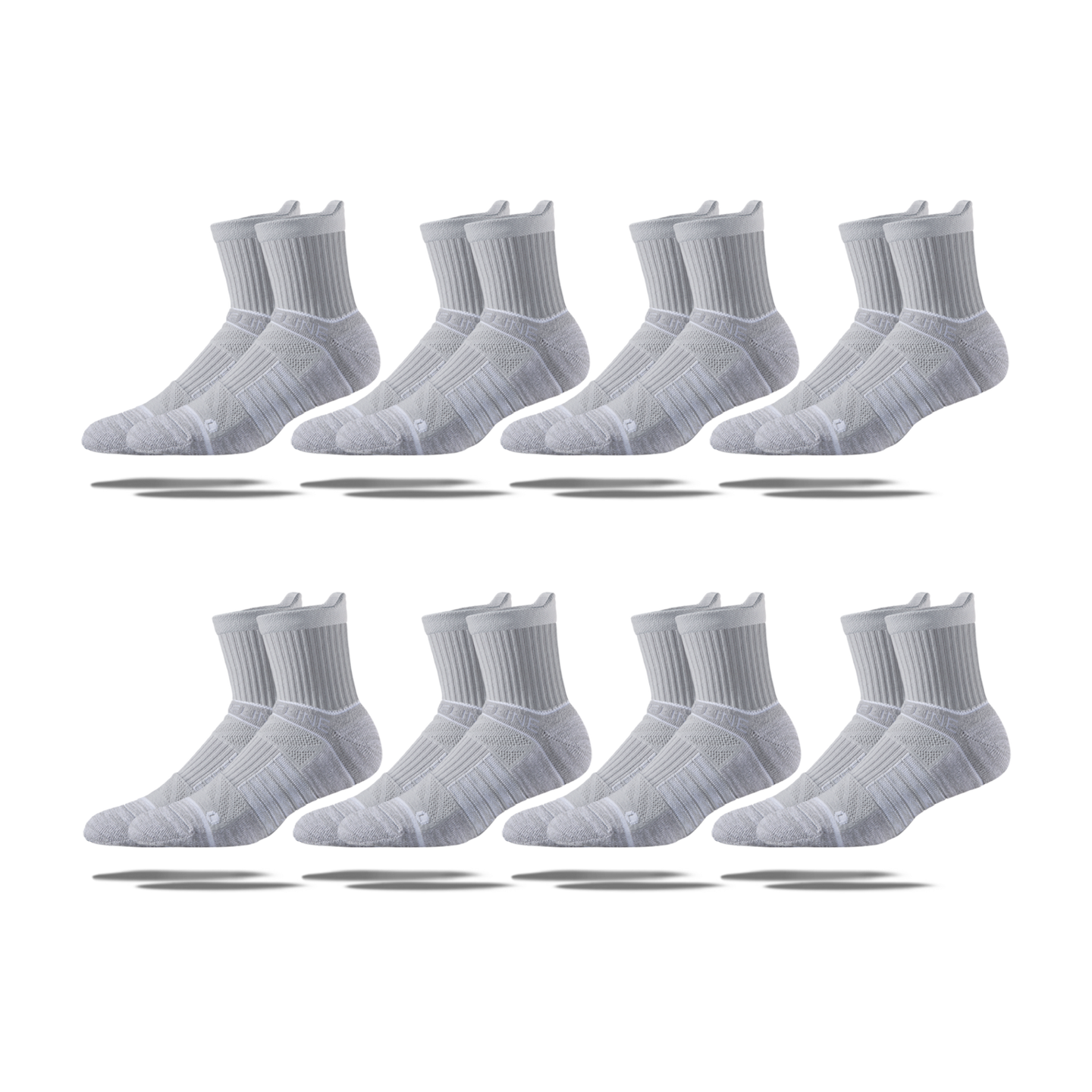 Women's Mid Socks 8-Pack