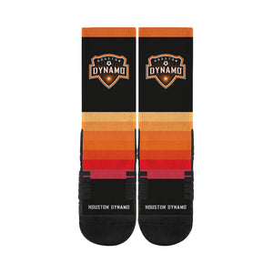 Houston Dynamo Sunset Black Socks