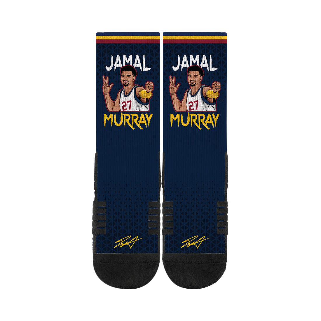 Jamal Murray Arrow Navy Socks