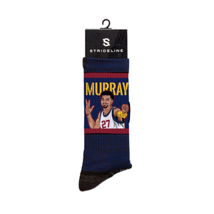 Jamal Murray Arrow Navy Crew Socks