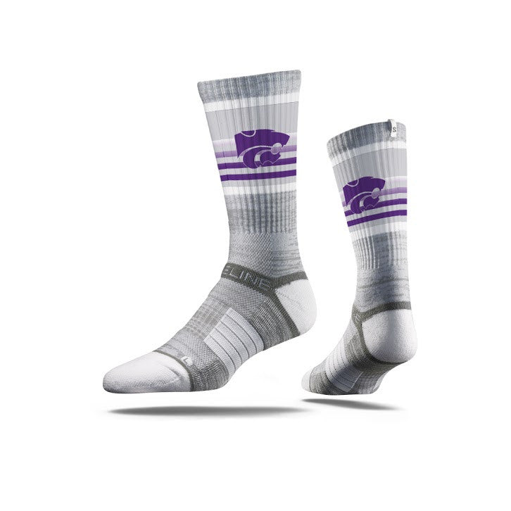 Kansas State University Wildcats Logo Grey