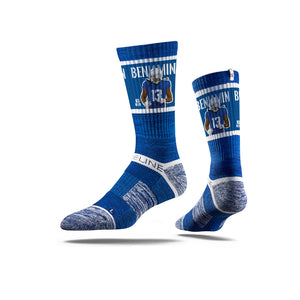 Kelvin Benjamin Action Royal Crew Socks