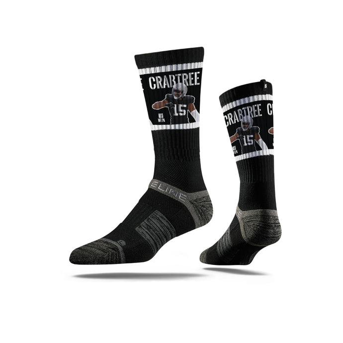 Michael Crabtree Black Socks