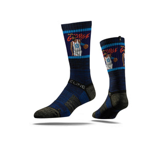 Paul George Handels Navy Crew Socks