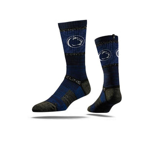 Pennsylvania State University Nittany Lions Navy Crew Socks