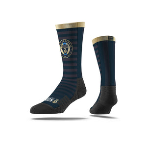 Philadelphia Union Navy Striped Socks