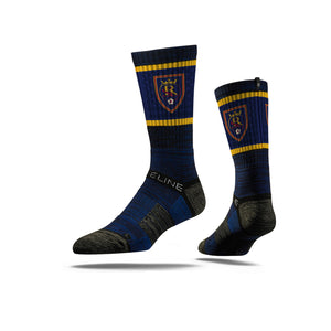 Real Salt Lake Royal Navy Polka Dot Socks