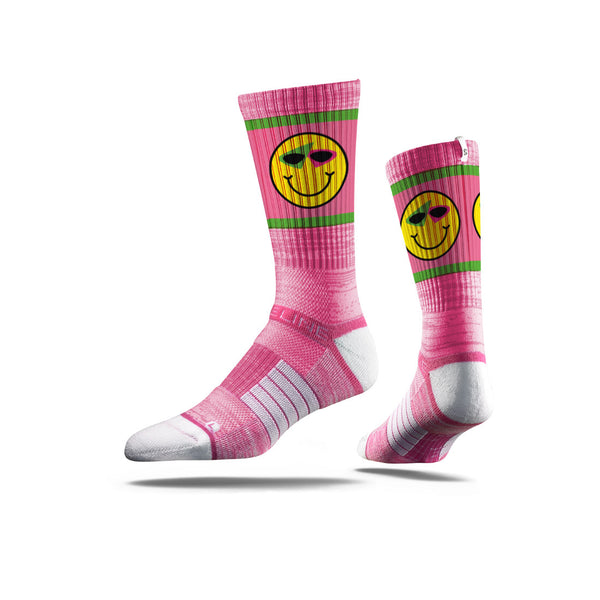 Roy Purdy Smile Pink Socks