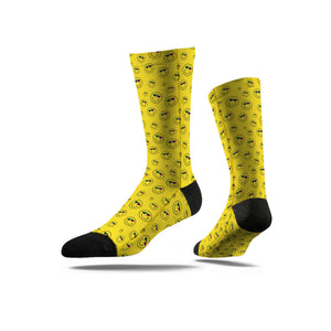 Roy Purdy All Over Smile Yellow Socks