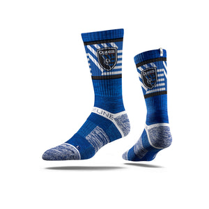 San Jose Earthquakes Royal Crest Socks